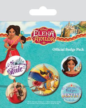 Значка комплект 4 броя Elena of Avalor