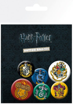 Значка комплект 4 броя Harry Potter - Crests