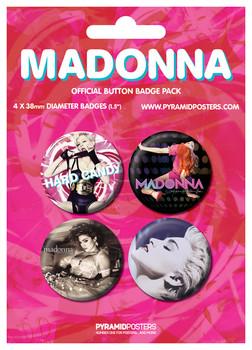 Значка комплект 4 броя MADONA - Albums