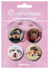 Значка комплект 4 броя RACHAEL HALE - dogs