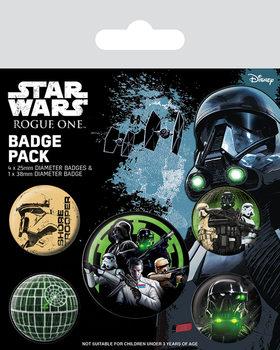 Значка комплект 4 броя Rogue One: Star Wars Story - Empire