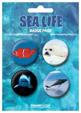 Значка комплект 4 броя SEA LIFE