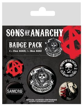 Значка комплект 4 броя Sons of Anarchy