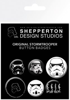 Значка комплект 4 броя Stormtrooper - Mix
