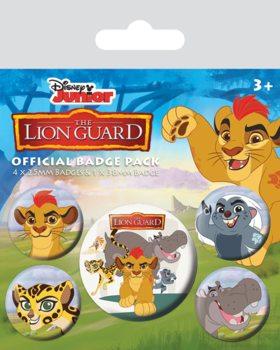 Значка комплект 4 броя The Lion Guard
