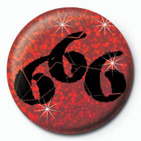 666 Значки за обувки