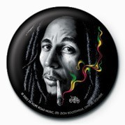 BOB MARLEY - smoke Значки за обувки