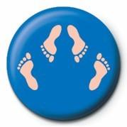 FEET (SHAGGING) Значки за обувки