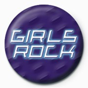 GIRLS ROCK Значок