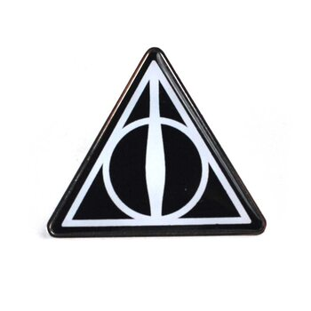Значок Harry Potter - Deathly Hallows