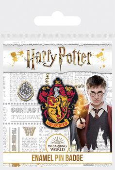 Значок Harry Potter - Nebelvír