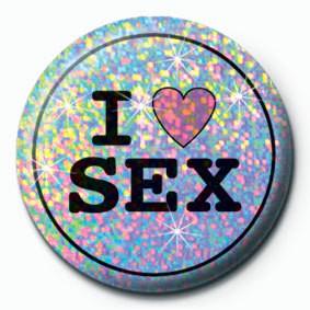 I LOVE SEX Значок