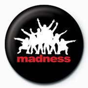 MADNESS - Black Значок