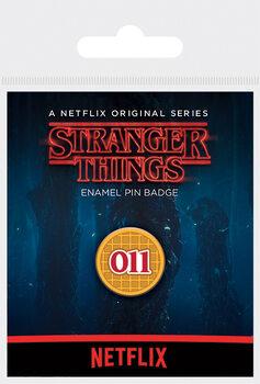 Значок Stranger Things - Eggo