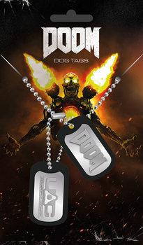 Doom - UAC ИД таг за куче