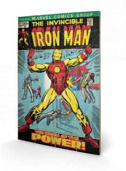 Изкуство от дърво Iron Man - Birth Of Power