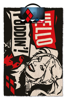 Harley Quinn - Hello Puddin' Изтривалка за крака