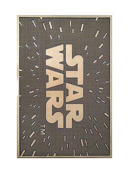 Изтривалка за крака Star Wars - The Logo (Rubber)