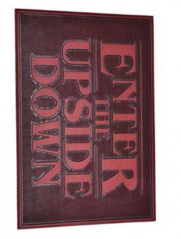 Изтривалка за крака Stranger Things - Upside Down (Rubber)