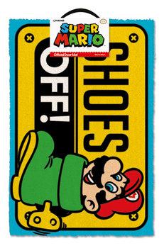 Super Mario - Shoes Off Colour Изтривалка за крака