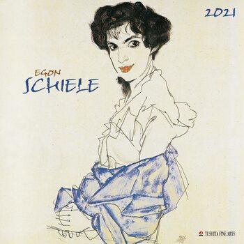 Egon Schiele Календари 2021