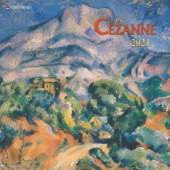 Paul Cezanne Календари 2021