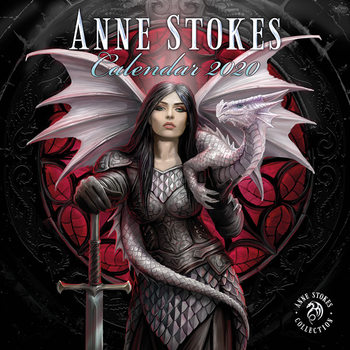 Anne Stokes Календари 2020