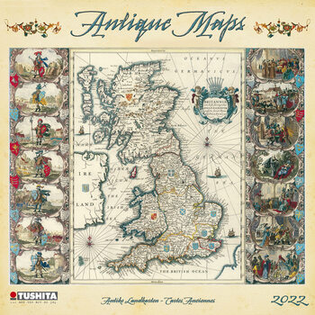 Antique Maps Календари 2022