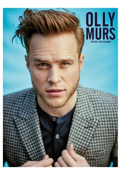 Olly Murs Календари 2017