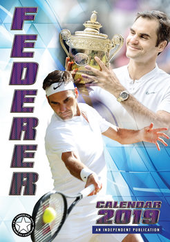 Roger Federer Календари 2019
