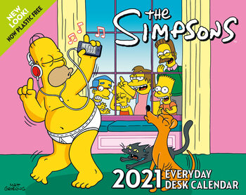 The Simpsons Календари 2021