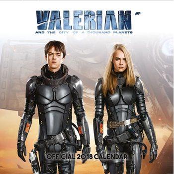 Valerian Календари 2018