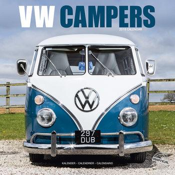 VW Camper Vans Календари 2021