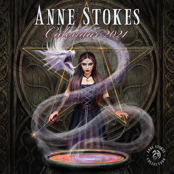 Календар 2021 Anne Stokes