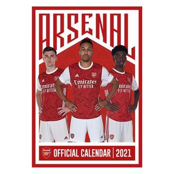 Календар 2021 Arsenal