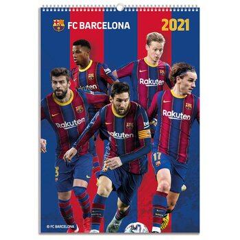Календар 2021 Barcelona