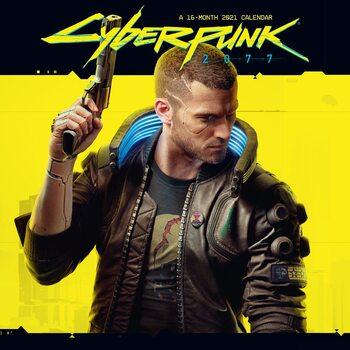 Календар 2021 Cyberpunk 2077