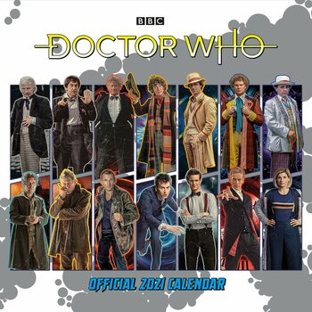 Календар 2021 Doctor Who - Classic Edition