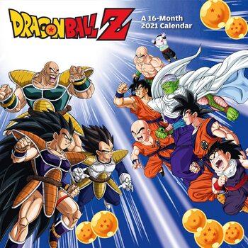 Календар 2021 Dragon Ball Z