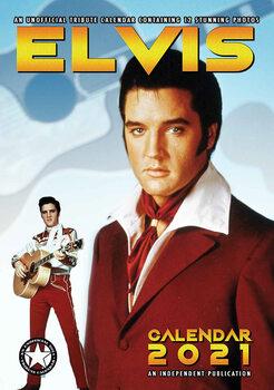 Календар 2021 Elvis Presley