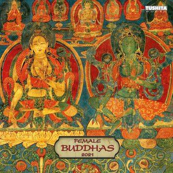 Календар 2021 Female Buddhas