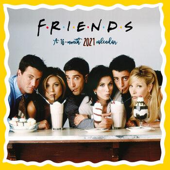 Календар 2021 Friends