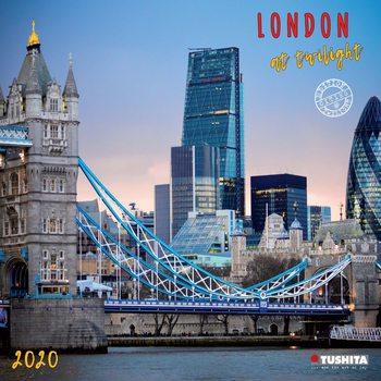 Календар 2021 London at Twilight