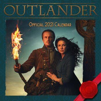 Календар 2021 Outlander