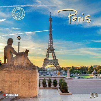 Календар 2021 Paris