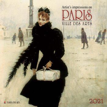 Календар 2021 Paris - Ville des Arts