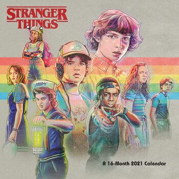 Календар 2021 Stranger Things