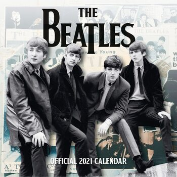 Календар 2021 The Beatles