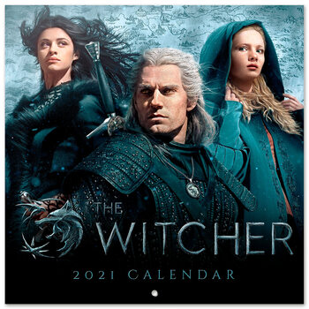Календар 2021 The Witcher