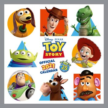 Календар 2021 Toy Story 4